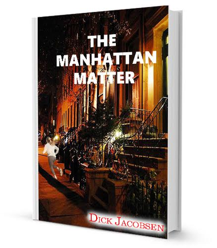 Manhattan Matter 3D Book