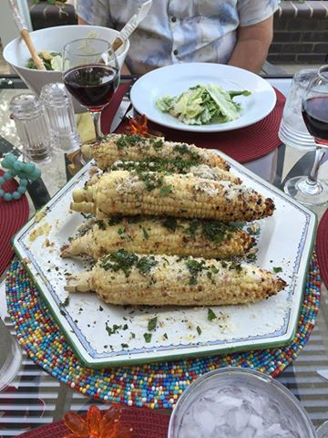 Italian Corn on the Cob.