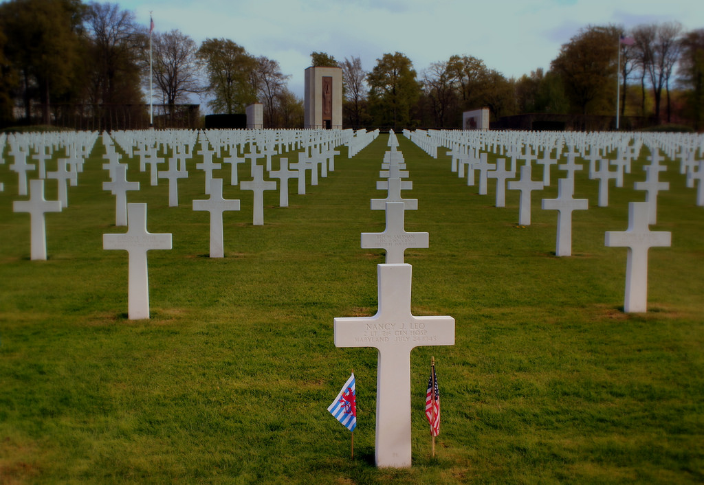Normandy Memorial Cemetery