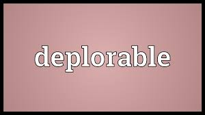 I'm Deplorable And I'm Proud